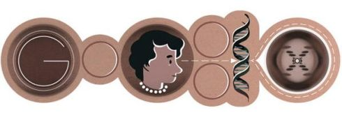 Google celebrates Roslind Franklin