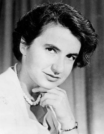 Rosalind Franklin photographs DNA